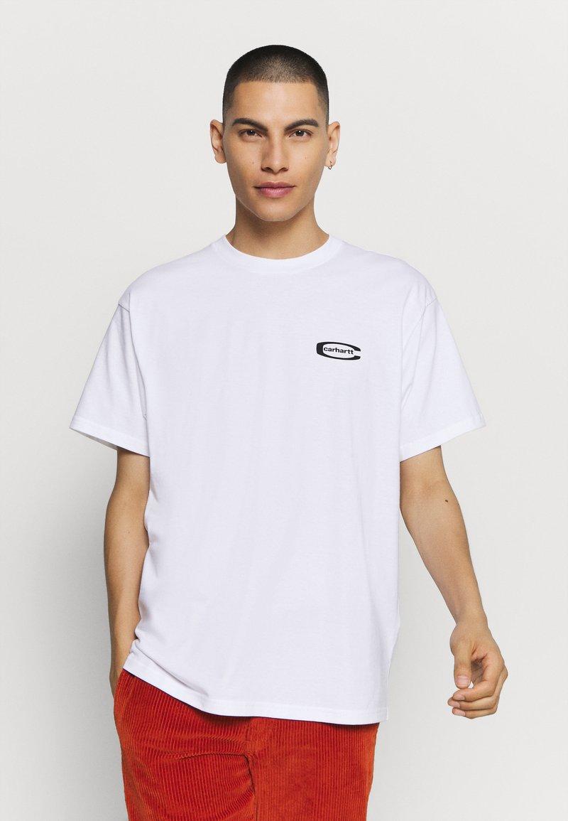 Carhartt WIP - MIRROR  - Print T-shirt - white