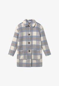Grunt - BOUCLE - Zimní kabát - blue check - 2