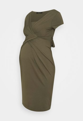 HOLLY NEW II - Shift dress - khaki