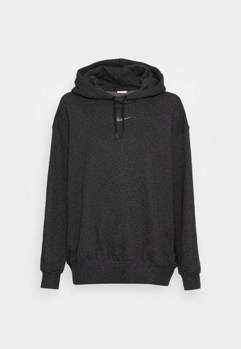 HOODIE - Sweatshirt - black heather