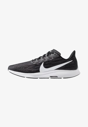 AIR ZOOM PEGASUS  - Løbesko stabilitet - black/white/thunder grey
