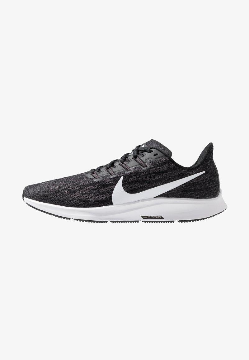 Nike Performance - AIR ZOOM PEGASUS  - Obuwie do biegania Stabilność - black/white/thunder grey