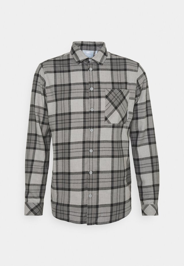 TROVAT - Skjorte - granit/titanium