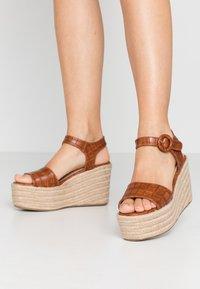 Tata Italia - High heeled sandals - camel - 0