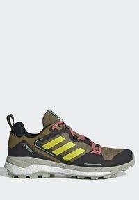 adidas Performance - TERREX SKYCHASER 2 - Hikingsko - wild moss/acid yellow/acid mint - 6