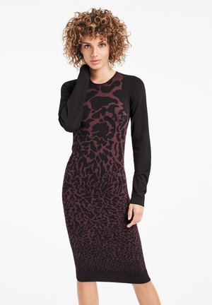 LEO  - Shift dress - chateau/black