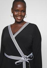 Lauren Ralph Lauren Woman - BENNETT DAY DRESS - Shift dress - black - 3
