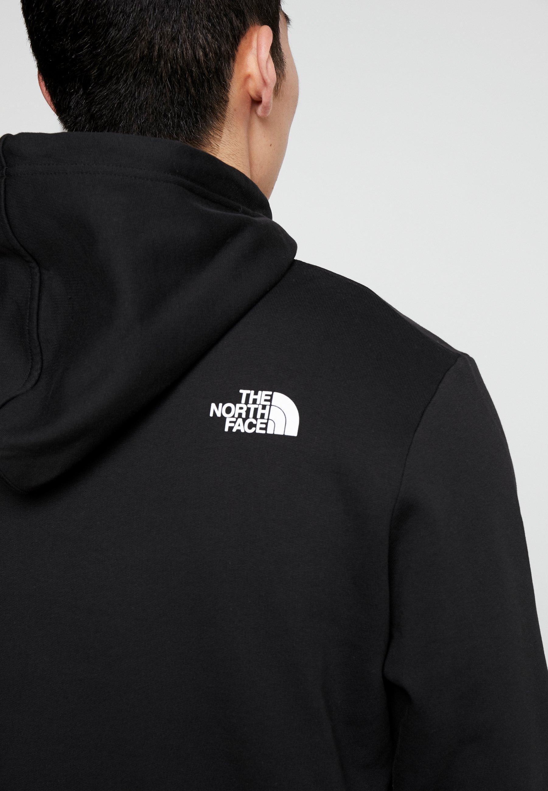 The North Face STANDARD HOODIE - Hoodie - black