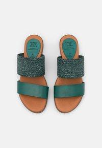 Grand Step Shoes - FIBI - Mules - seagreen - 5