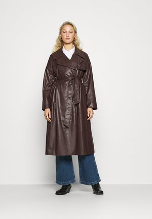 CLASSIC  - Trenchcoat - dark chocolate