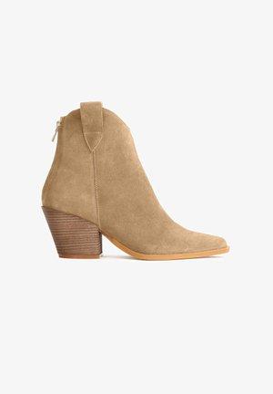 SIGME - Korte laarzen - light brown
