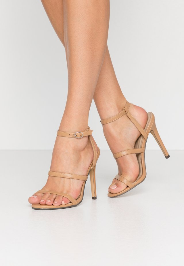 JULES - High heeled sandals - nude