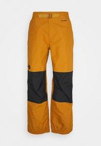 UP & OVER PANT TIMBER - Snow pants - tan/black