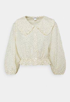 MILDA BLOUSE - Camisa - beige