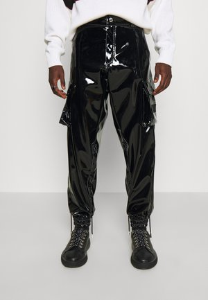 PANTS - Cargo trousers - black