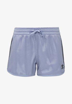 MESH SHORTS - Short - blue