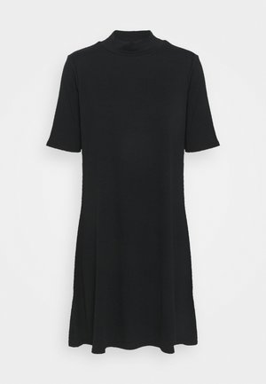 MOCK NECK DRESS - Robe d'été - true black