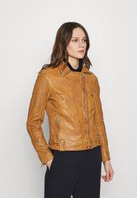 Gipsy - Leather jacket - camel - 0