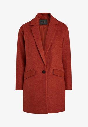 Płaszcz wełniany /Płaszcz klasyczny - orange