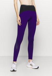 adidas by Stella McCartney - TRUEPACE - Medias - collegiate purple/black - 0