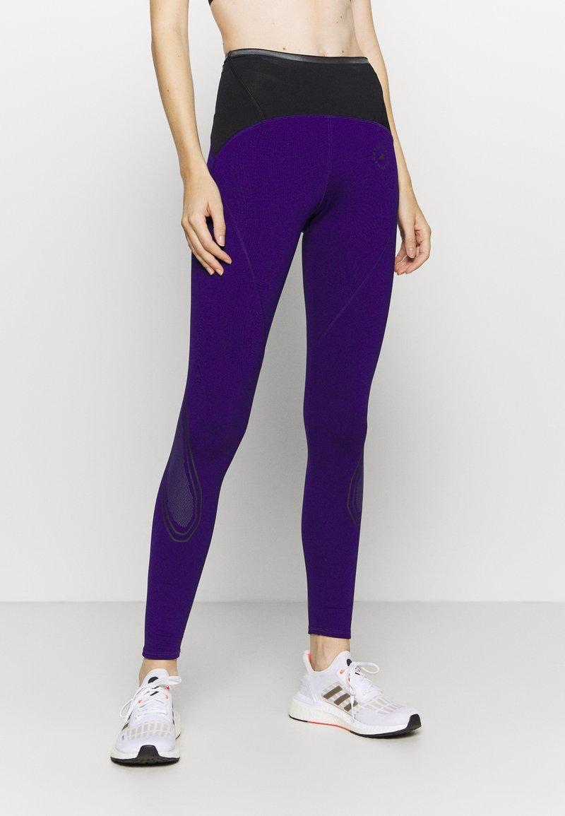 adidas by Stella McCartney - TRUEPACE - Medias - collegiate purple/black