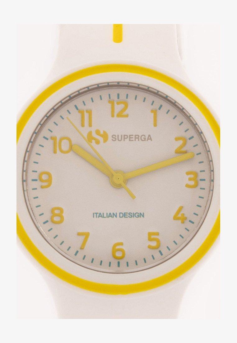 Superga - Watch - bianco/giallo