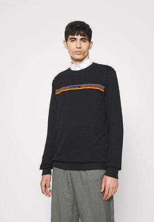 ARTIST STRIPE DETAIL  - Sweatshirt - black/multi coloured