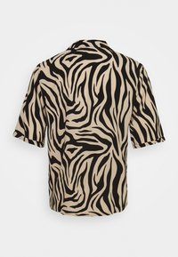 JDY - JDYTARA  - Button-down blouse - tapioca/black zebra