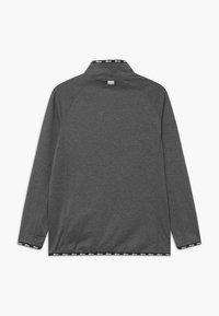 Ellesse - DUPLEXA ZIP UNISEX - Long sleeved top - dark grey - 1