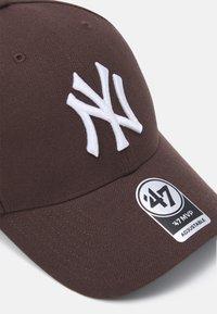'47 - NEW YORK YANKEES SNAPBACK UNISEX - Caps - brown - 3