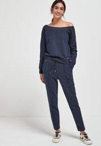 Next - Sweatshirt - metallic blue - 0