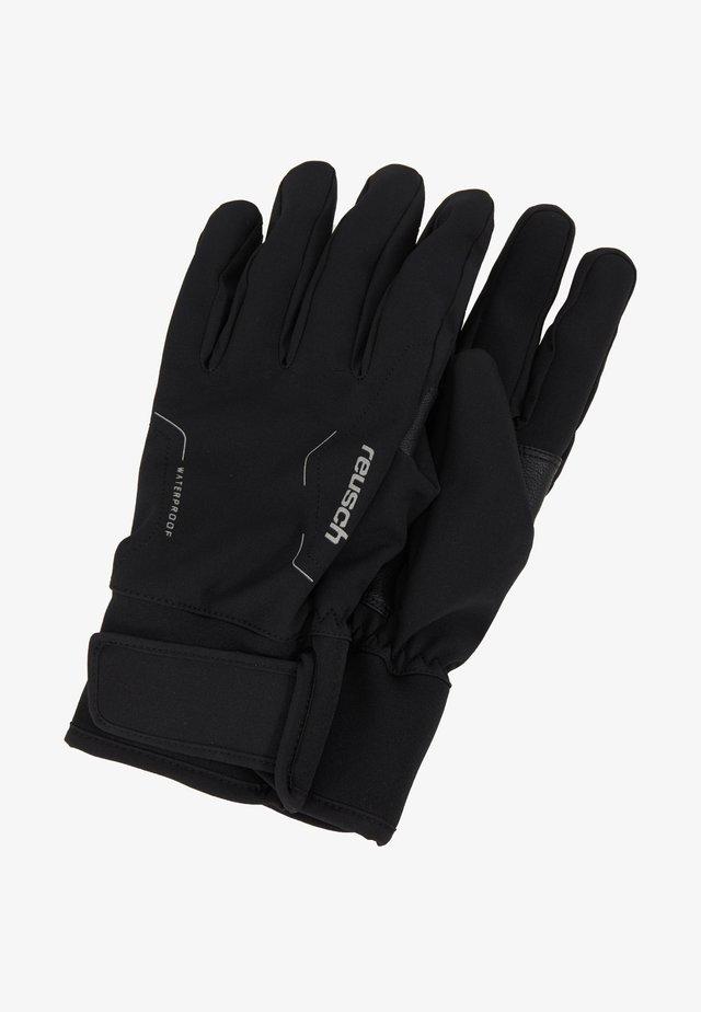 REUSCH DIVER X R TEX® XT - Gloves - black/silver