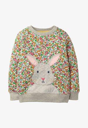 MIT APPLIKATION - Sweatshirt - multi vintage floral bunny