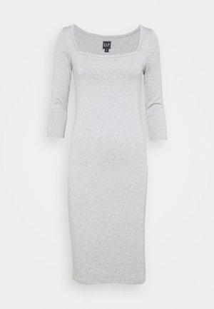 Vestito di maglina - heather grey