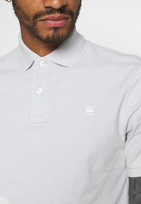 G-Star - SIDE STRIPE POLO S\S - Polo shirt - cool grey - 5