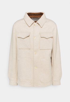 RELAXED JACKET UNISEX - Summer jacket - beached melange