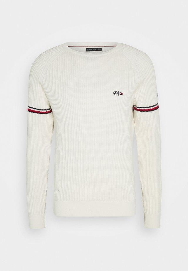 ICON CREW NECK - Sweter - white