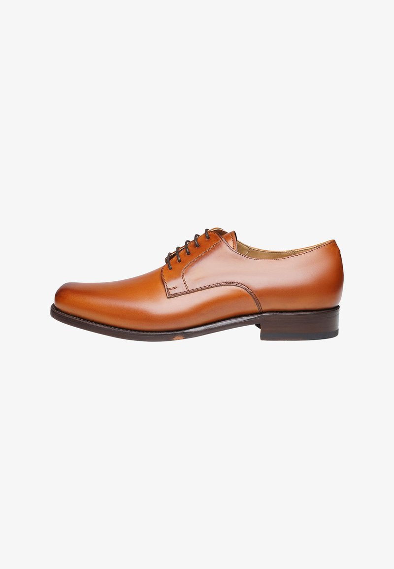 SHOEPASSION - NO. 5572 - Smart lace-ups - red/brown