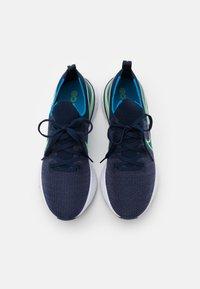 Nike Performance - REACT INFINITY RUN FK - Neutrala löparskor - college navy/cucumber calm/blue orbit/white - 3