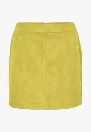 Mini skirt - celery