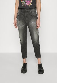 Diesel - D-FAYZA-T - Relaxed fit jeans - washed black - 0