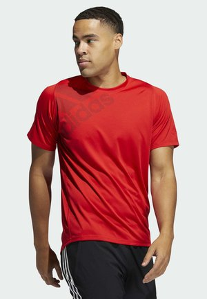 FREELIFT BADGE OF SPORT GRAPHIC TEE - Print T-shirt - red