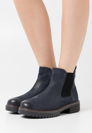Ankle boots - ocean