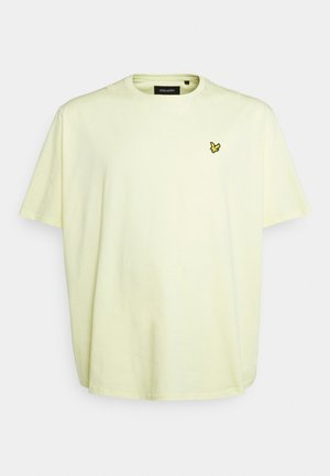 PLAIN - T-shirt - bas - lemon