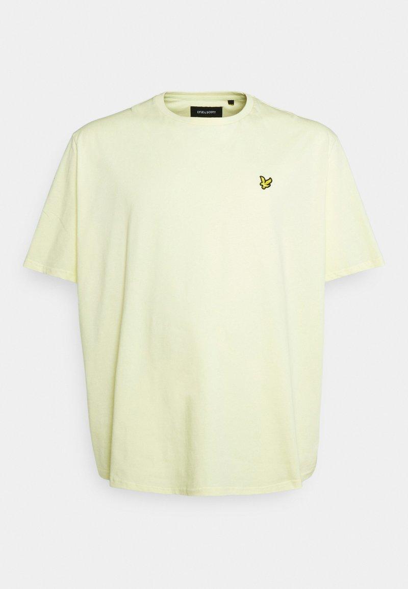 Lyle & Scott - PLAIN - T-shirt basic - lemon