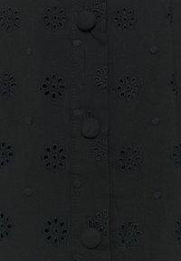Marks & Spencer London - BROIDERIE - Košilové šaty - black - 2