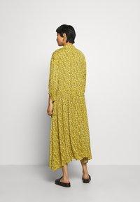 Gestuz - THALLOGZ LONG DRESS  - Shirt dress - yellow - 2