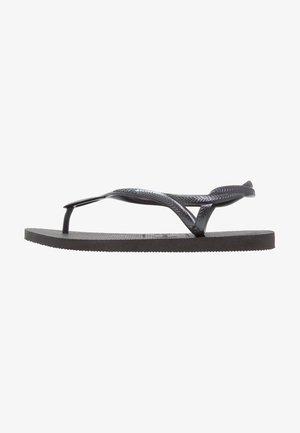 LUNA - Pool shoes - black