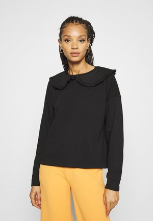 NMPARE PETER PAN COLLAR - Sweater - black