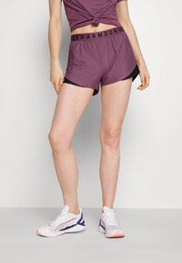 Under Armour - PLAY UP SHORTS 3.0 - Sports shorts - purple - 0